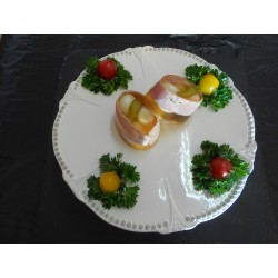 Aspic oeuf de caille