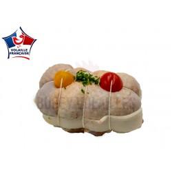 Ballotin de poulet aux tomates confites ( poids)
